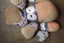 stones & wood & natural materials