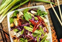 Asian Dishes / Fresh ingredient delivery.  www.homechef.com / by Home Chef