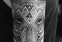 Amazing Geometric Tattoos