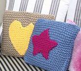 Colección Home Invierno 2014 / Teje ahora tambien productos para tu casa con Knitting Point