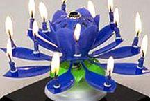 Distinctive Birthday Candles / Some creative birthday candle alternatives.