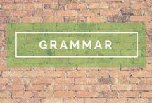 Grammar Tips / Good grammar is key for quality social media content.