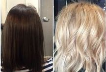 Olaplex Transformations / Olaplex salon transformations in South Africa and in other countries