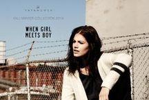 FW15 THEME 2 // WHEN GIRL MEETS BOY / YAYA FW15 Collection Theme 2