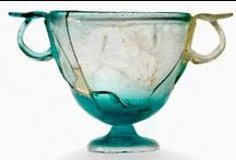 verre romain - canthares