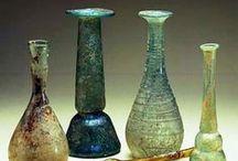 verre romain - fioles et flacons