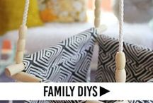 Family DIY's / Nursery DIY's, kid rooms DIY's, kids DIY's, kids crafts, kid craft ideas, kid friendly DIY's, child friendly craft projects, fall craft ideas for kids, winter craft ideas for kids, crafts for the whole family, DIY tutorials