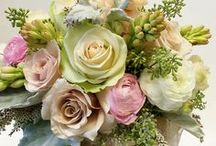 Bouquets Galore / A board featuring many different styles of wedding bouquets