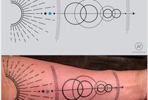 Tattoo Inspiration / Inspirational tattoo designs, elements and concepts