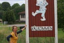 Wat ik heb gezien in Zweden. / Ik mag graag naar Zweden gaan en ontdekken wat bij Zweden hoort en dat vast leggen!