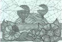 tangl & doodl ♥ / drawing, doodling, printing