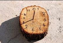 Creatief met hout!!! / Takken, boomstammen, planken, kralen, wasknijpers!! Als het maar van hout is!