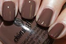 Nail polish BROWN & NUDE