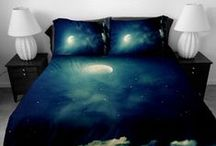 Dream A Little Dream / Star bright and moonlit bedrooms in Moody tones and cosy colours.  http://barkersfurniture.com/beds_category