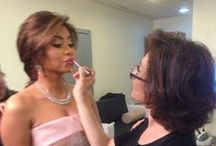 Sherine Abdel-Wahab / From romantic to sultry, a collection of makeup looks for the Arab star Sherine Abdel-Wahab by Hala Ajam