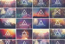 Geometric Tattoos / Geometric // Arrows // Glyphs // Placement // Inspiration