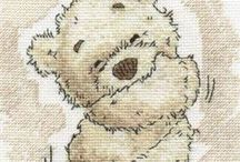 lickle teddy cross stitch obsession