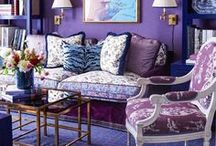 Pantone Color of the Year: Ultra Violet Home Decor Inspiration / Wondering how to add Pantone's Color of the Year to your home décor? Take a peek at these rooms draped in Ultra Violet majesty and be inspired to add this on-trend color to your home.