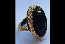 Rings / Beaded rings - inspirations and tutorials