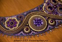 Bead embroidery / Haft koralikowy - inspiracje Bead embroidery - inspirations and tutorials