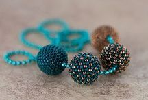 Beaded bead / Beaded bead - inspirations and tutorials