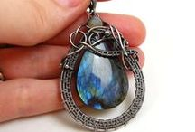 Wire wrapping / Wire wrapping - inspirations and tutorials