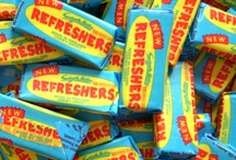 Retro Chews / We love retro sweets. We think you could even consider the wrappers to be artwork. An instant reminder of childhood and innocence. Here is a selection of our wrapped retro chews