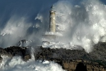 Riders of the storm.... / Oh hear us when we cry to thee, for those in peril on the sea...