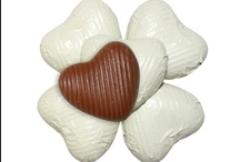 Wedding Chocolate Hearts / Chocolates for weddings and wedding favours. All available on our website.