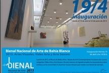 Flyers / Los flyers de los eventos en los museos de arte