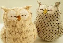 Owls / Sowy / Owls - inspirations and tutorials, DIY Sowy - inspiracje, różne techniki
