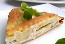 Salzig gebacken / tartes, quiches, cakes, muffins und weitere salzige Backvarianten
