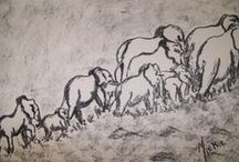 Animals / This is a collection of animal drawings and paintings I did.