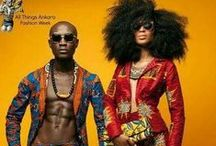 African fabrics and clothes / African fabrics and clothes - inspirations and tutorials, DIY Afrykańskie tkaniny i stroje, ubiory