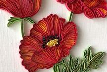 Quilling / Quilling - inspirations and tutorials Ouilling - inspiracje i tutoriale