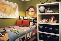 inspiracje - pokój dla chłopca
