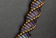 African helix / African helix stitch - inspirations and tutorials
