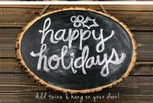 Holiday Arts and Crafts / Fun, creative and festive DIY projects for you and the kids!