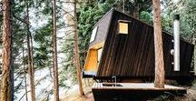 small / house - cabin / small house cabin retreat shelter summer house vacation house living unit