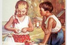 Советская реклама детях и не только