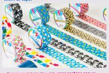 POPtape Duct Tape Colours & Patterns / Amazing patterns and gorgeous colours by POPtape Australia. #POPtape