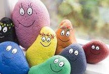 Painted rocks / stones