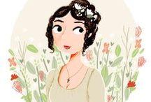 Jane Austen's books, films, dresses