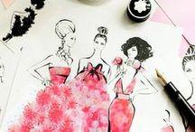 Fashion illustations