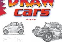 """Draw Cars, by Doug DuBosque / This board is for reference material (original images) and inspiration for readers of Doug DuBosque's book """"Draw Cars,"""" now in its third (2015) edition."""