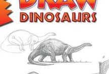 """Draw Dinosaurs, by Doug DuBosque / Refernce material (things to look at and draw) and inspiration for readers of Doug DuBosque's book """"Draw Dinosaurs."""""""