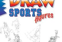 """Draw Sports Figures, by Damon J. Reinagle / Reference material (things to look at and draw) and inspiration for readers of Damon J. Reinagle's book """"Draw Sports Figures."""""""