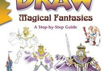 """Draw Magical Fantasies, by Damon J. Reinagle / Reference material (things to look at and draw) and inspiration for readers of Damon J. Reinagle's book """"Draw Magical Fantasies."""""""