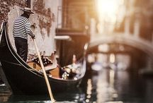 r o m a n c i n g. t h e. c a n a l s / rσmαncíng thє cαnαls  #venice#canals#italy#gondolier / by ❉ ❉ K a t e ❉ ❉