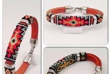 Cord bracelet / Cord bracelet - inspirations and tutorials